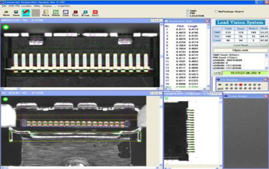 Connector Inspection Vision System